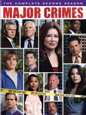 major crimes season 2 dvd cover