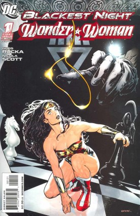 Ryan Sook  Blackest Night Wonder Woman 1 cover