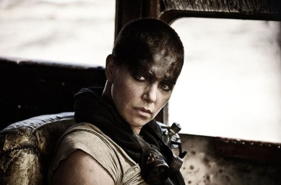 Charlize Theron Mad Max Fury Road SDCC 2014