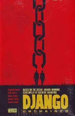 Django Unchained trade paperback cover