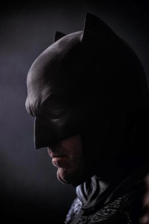 New Ben Affleck as Batman SDCC 2014