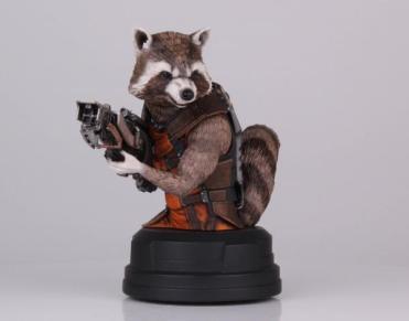 Rocket Raccoon SDCC 2014 bust Gentle Giant