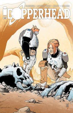 Copperhead Image Comics Issue 1 cover