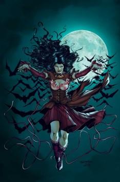 Legenderry Vampirella Davila cover