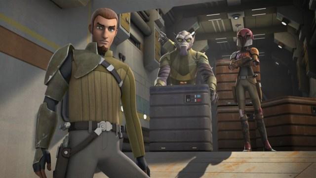 Star Wars Ghost crew