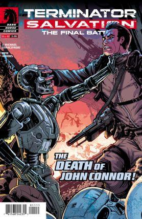 Final Battle terminator issue 11