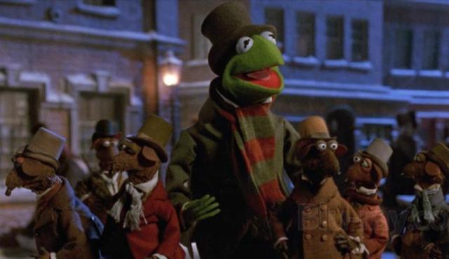 Kermit in A Muppet Christmas Carol