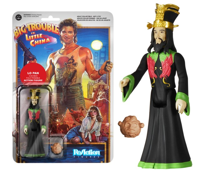 Big Trouble in Little China Lo Pan ReAction Funko