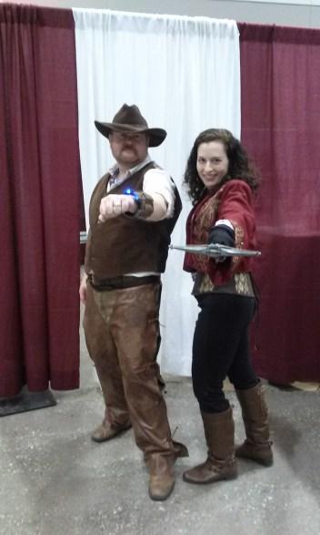 CJ Bunce Elizabeth C Bunce Cowboys Aliens Van Helsing cosplay