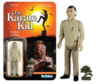 Mr Miyagi Karate Kid Funko ReAction