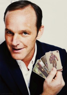 Coulson and his cards