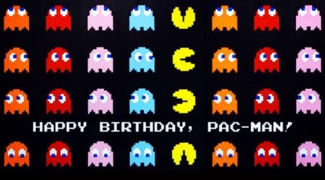 Pac-Man 35 birthday