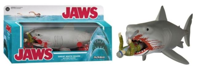 Jaws Entertainment Earth exclusive SDCC 2015 comic-con Quint and shark