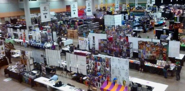 Wizard World Des Moines 2015 from above