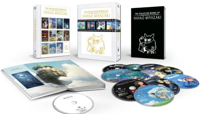 Miyazaki collection Blu-ray boxed set 2015