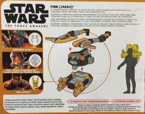Star Wars action figure backpack