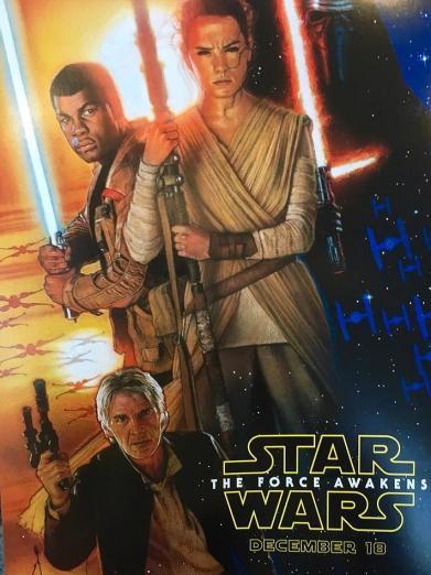 Struzan returns for Force Awakens poster