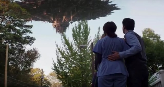 Alien ship in The 5th Wave