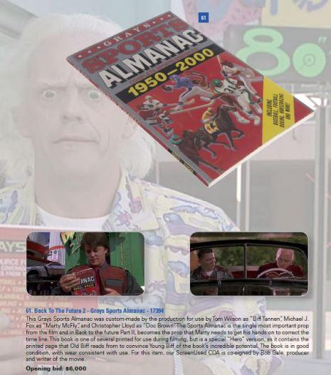 BTTF 2 Sports Almanac