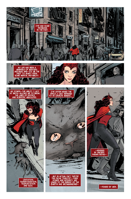 Scarlet Witch interior page