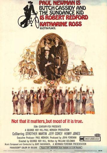 Butch and Sundance vintage poster