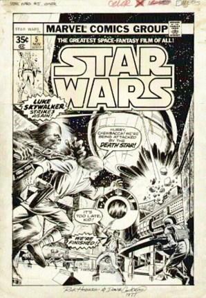 Star Wars 5 cover art Hoberg