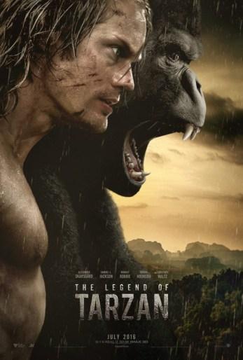 Legend of Tarzan poster