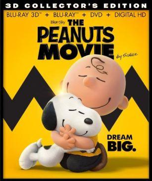 Peanuts blu-ray