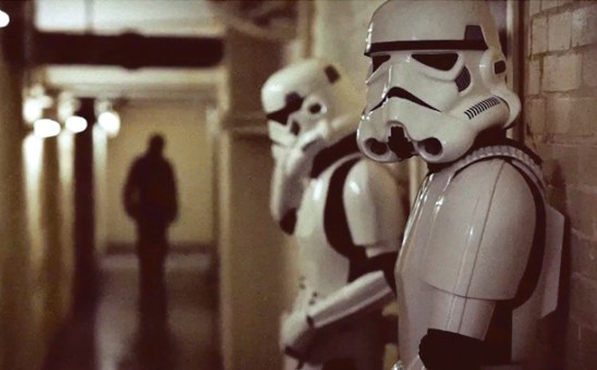 Troopers in the hall