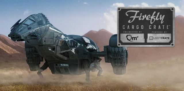 Firefly Cargo Crate poster