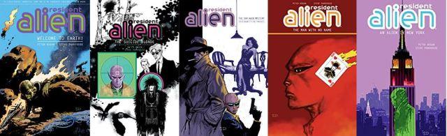 Resident alien books