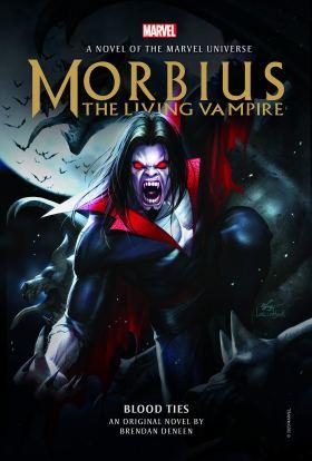 Morbius novel cover