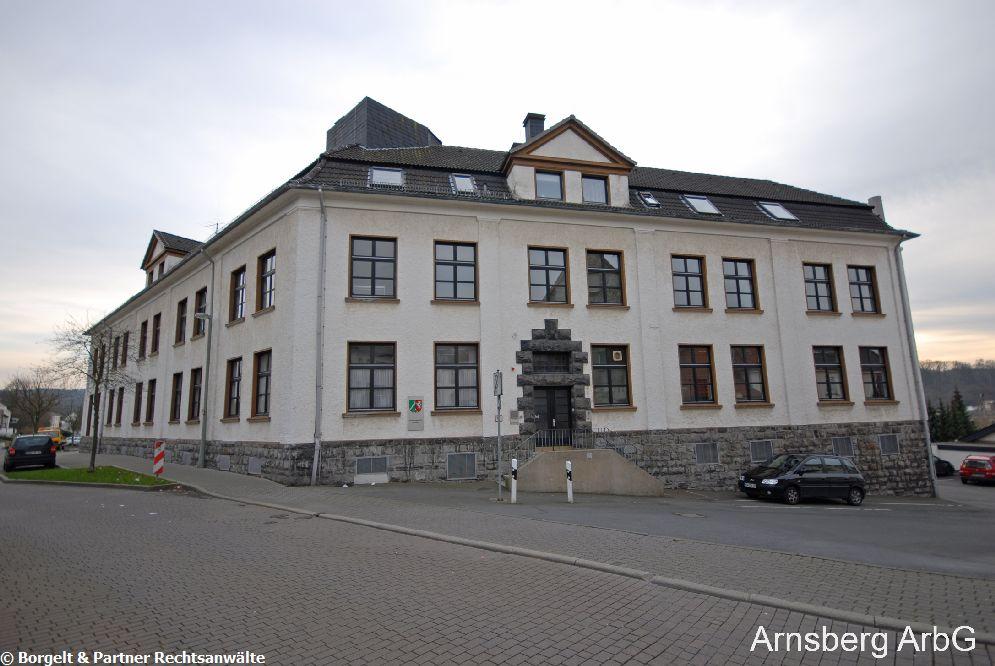Arnsberg Arbeitsgericht