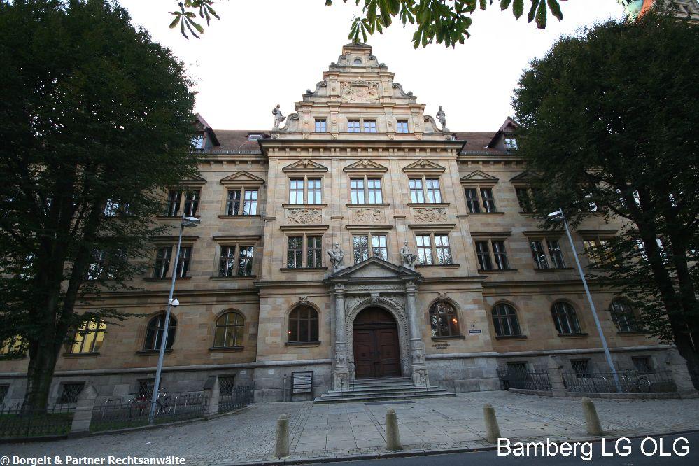 Bamberg Landgericht