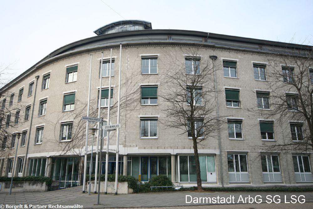Darmstadt Arbeitsgericht