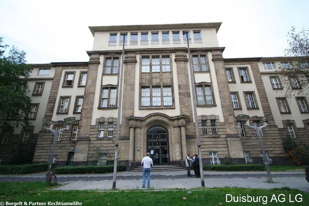 Duisburg Landgericht
