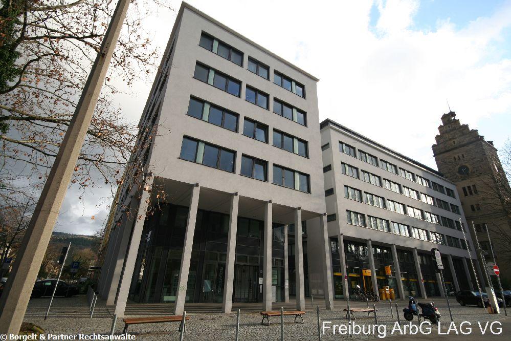 Freiburg Arbeitsgericht