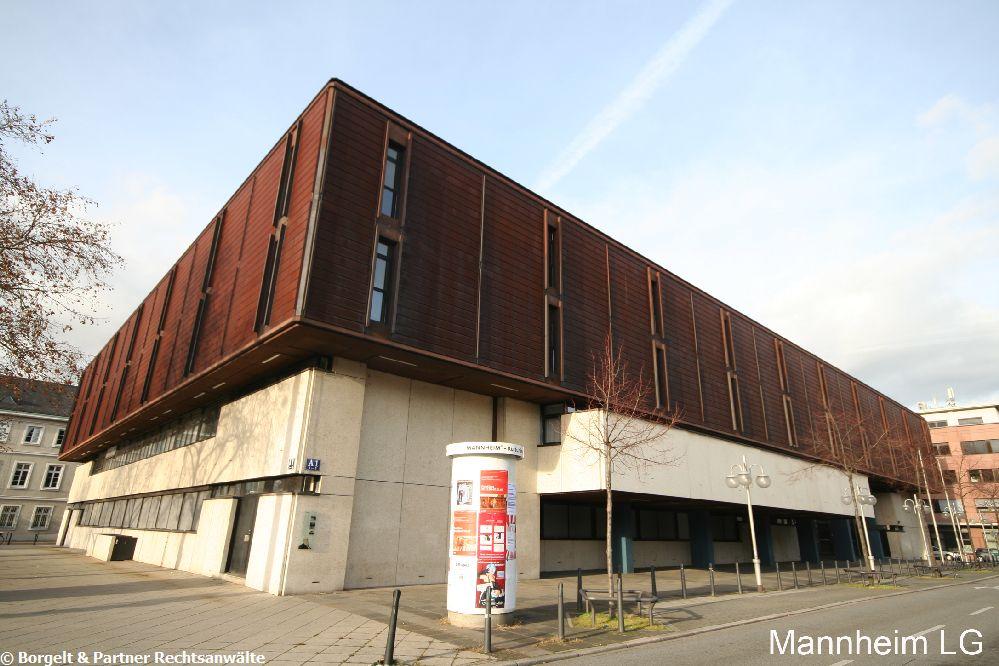 Mannheim Landgericht