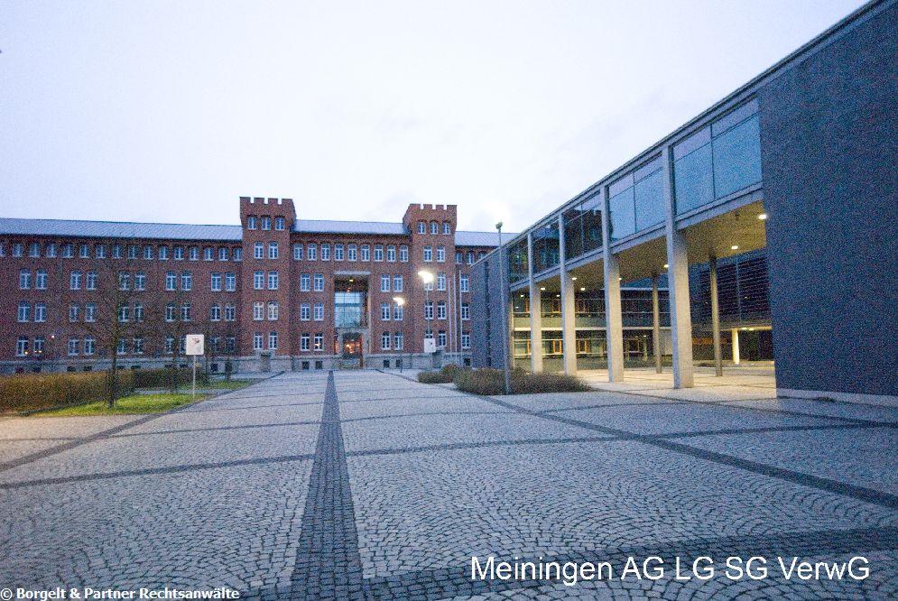 Meiningen Landgericht