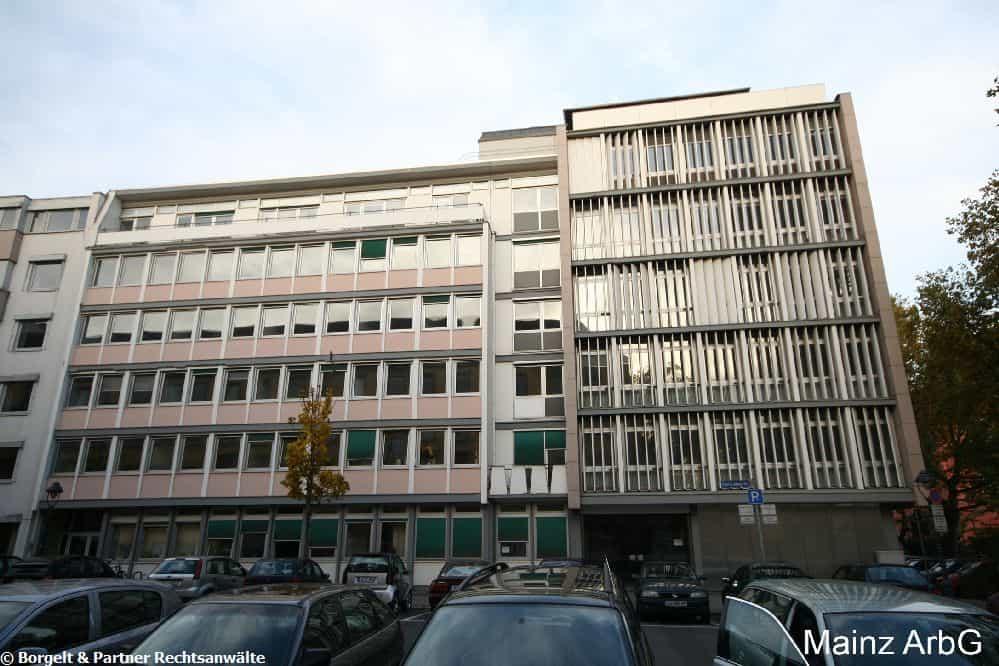 Mainz Arbeitsgericht