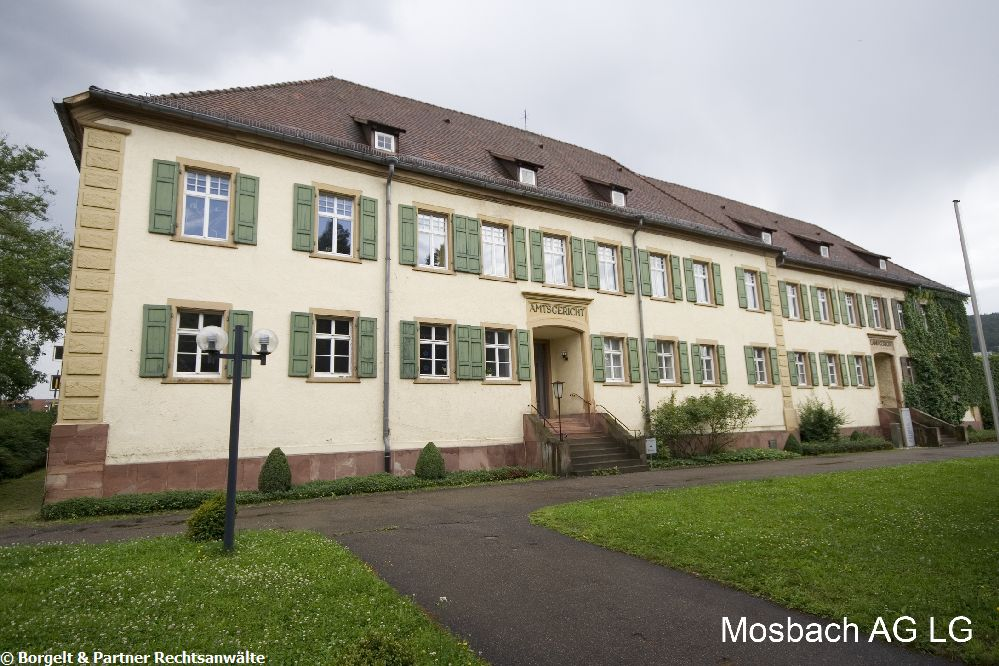 Mosbach Landgericht