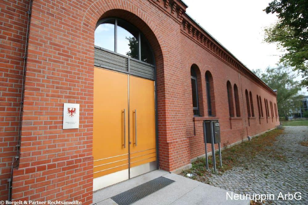 Arbeitsgericht Neuruppin