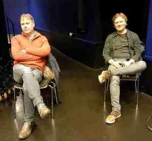 Torstein Aagaard-Nilsen og Hans Andreas Kjølberg