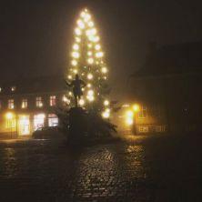 Trolsk stemning i Gamlebyen i Fredrikstad