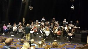 Lisleby Musikkorps i aksjon