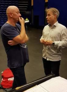 Frode Amundsen og Torstein Aagaard-Nilsen