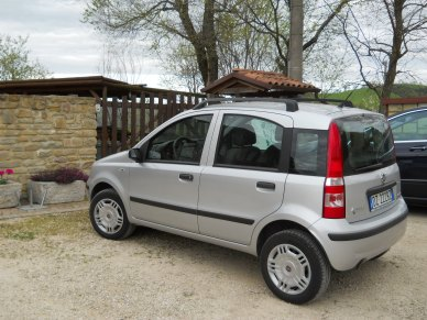 2009 Fiat Panda- with natural gas and only 27,000 miles!