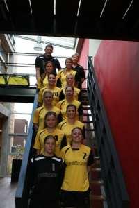 Borhave Dames 1, sponsor Gullimex