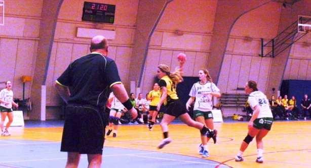 20140119. thuis Quintus 2 1024x555 - Borhave wint handbalTopper in 1e divisie tegen Quintus2: 22-21