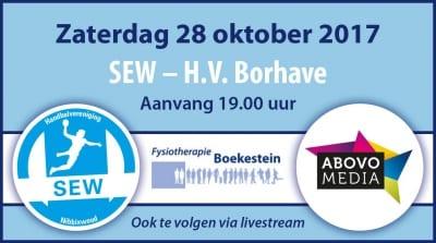 223 - Dames Borhave winnen uit met 28-31 van concurrent SEW
